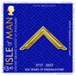 300 anos da Grande Loja Unida de Inglaterra (UGLE) em selos