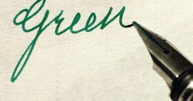 green ink 56tyugjhbj