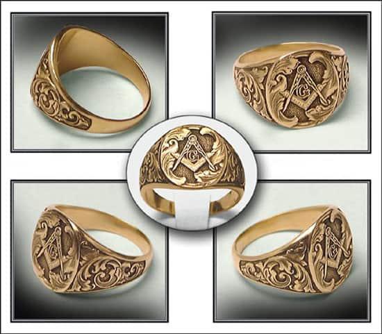 masonic ring 5467