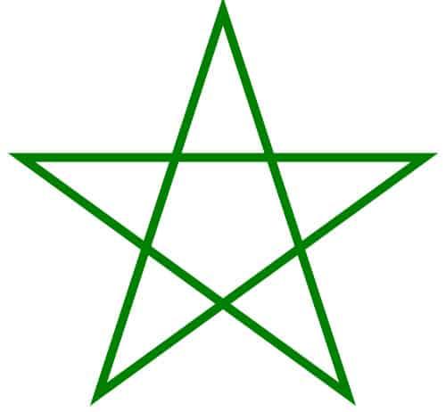 pentagrama 45ertygbhn
