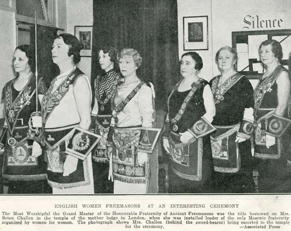 women and freemasonry