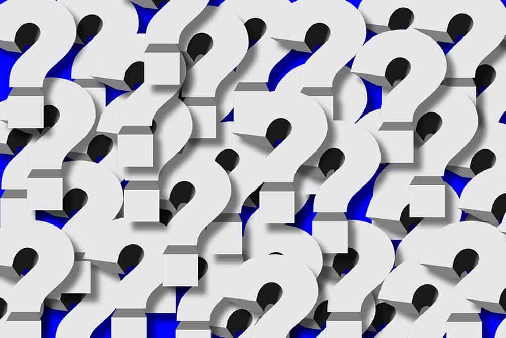 question marks 09876rewsd