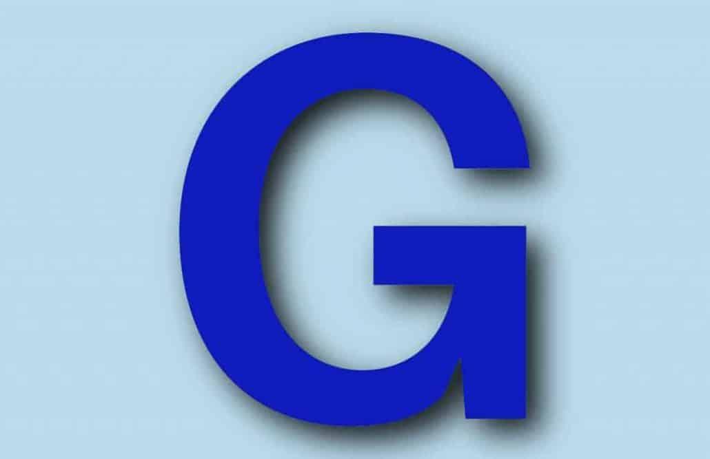 letter g 5etrfghjk