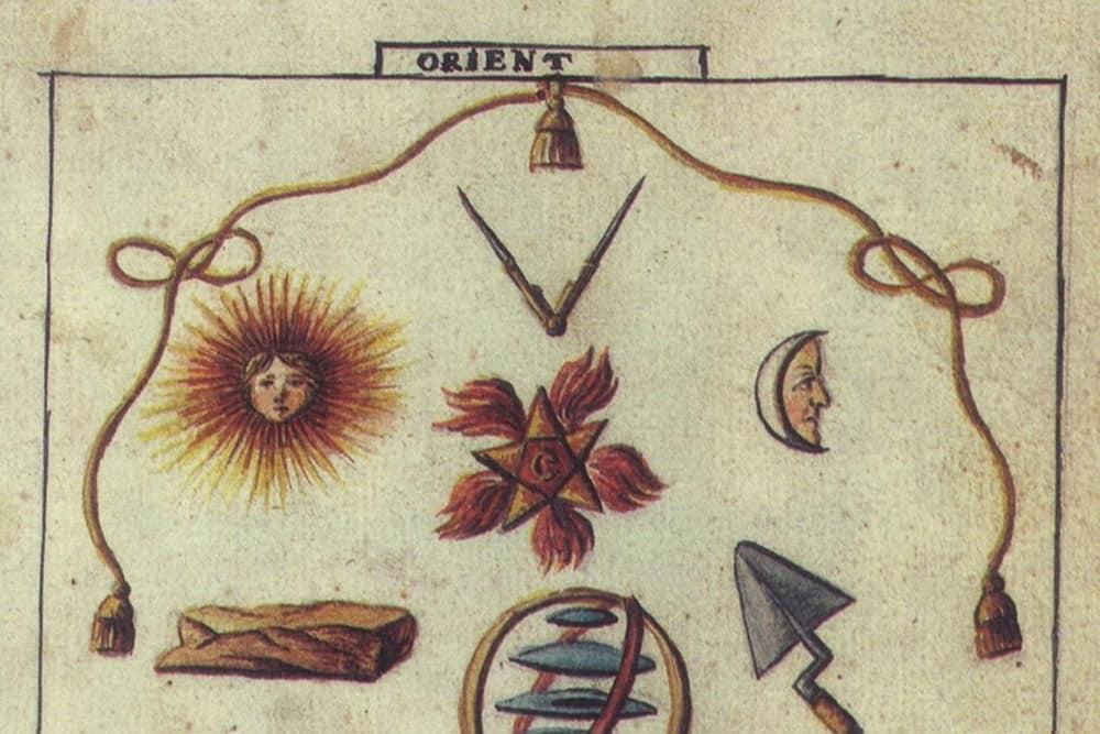 masonic sun symbol