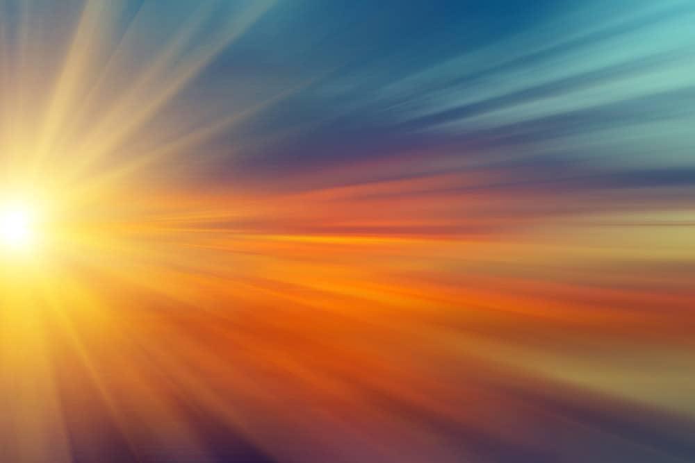 sun rays 6907