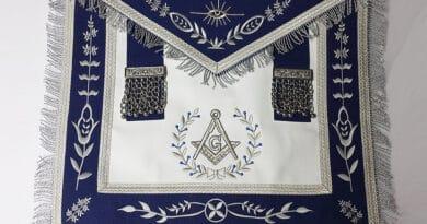 worshipfull master apron