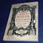 Os doze mandamentos maçónicos