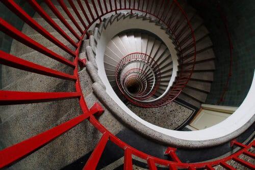 spiral stairs uytfg6546