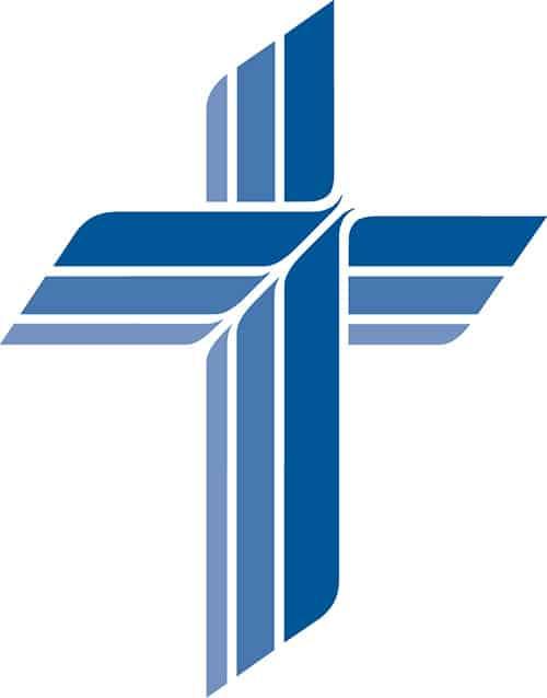 Blue cross transparent