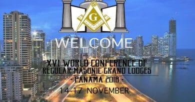XVI WORLD CONFERENCE of Regular Masonic Grand Lodges