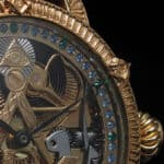 Relógio Patek Philippe com símbologia maçónica