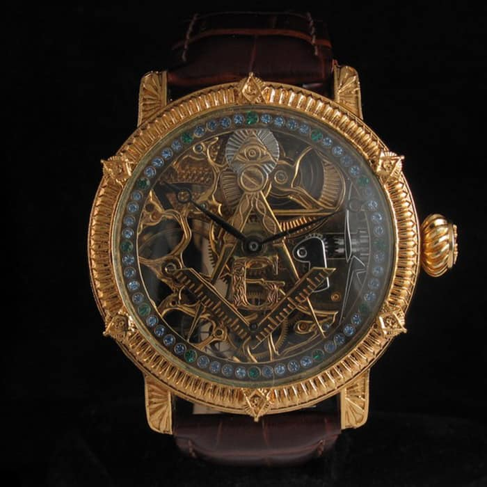 patek philippe masonic watch 1917 001