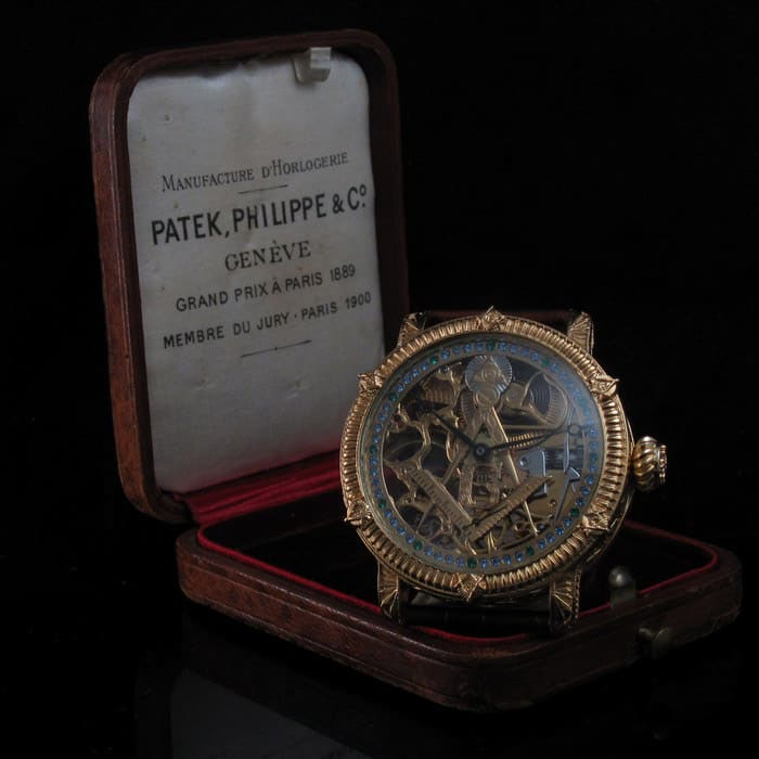 patek philippe masonic watch 1917 012