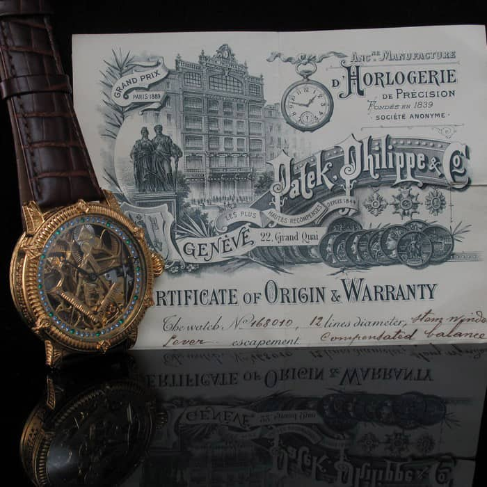 patek philippe masonic watch 1917 013