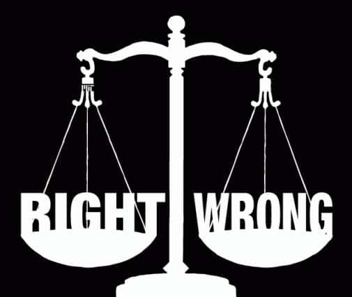 right wrong ewfd