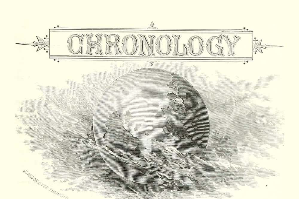 chronology 98ytghjh