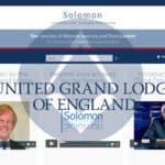 A Grande Loja Unida de Inglaterra (UGLE) lançou o Solomon