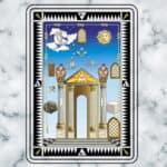 O painel do grau de Aprendiz no Rito Adonhiramita