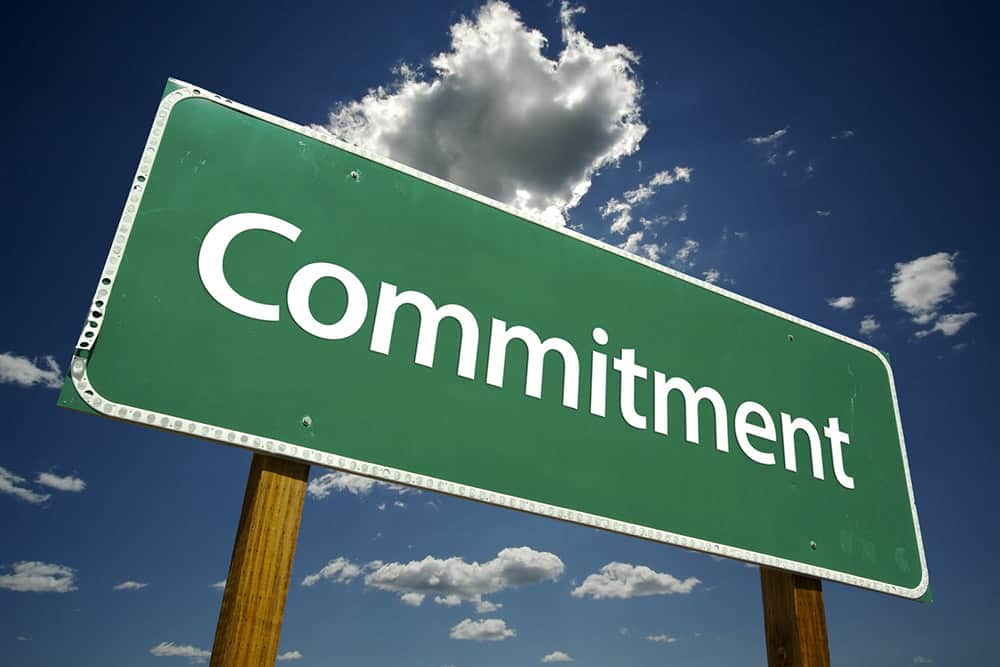 commitment 87g43df34g