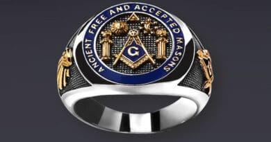 anel maçónico