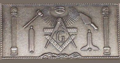 silver masonic symbols