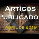 Artigos publicados – Abril de 2019