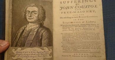 John Coustos (1703 - 1746)
