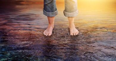 Andar sobre a água