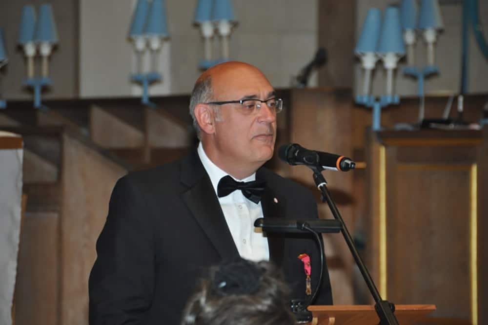 Ian Chandler, Grão-Mestre Provincial dos Maçons de Surrey