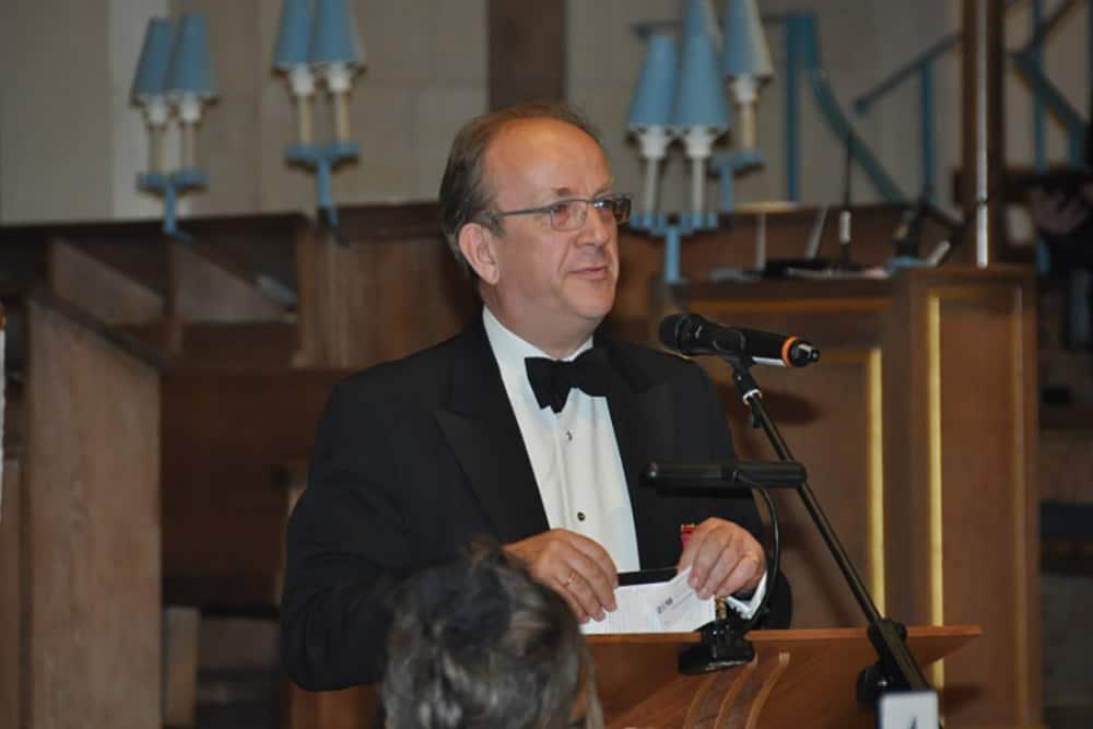 Jonathan Spence, Vice Grão-Mestre da Grande Loja Unida da Inglaterra (UGLE),