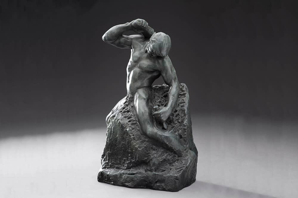 man carving himself hg5443