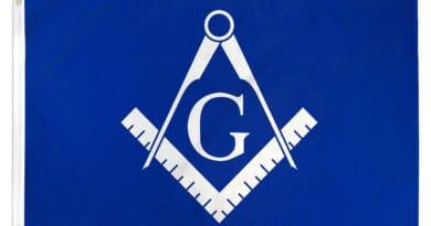 masonic blue flag hg4e