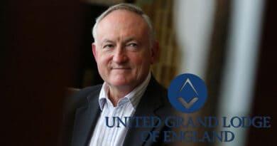Nigel Brown - Grande Secretário da Grande Loja Unida da Inglaterra (UGLE)