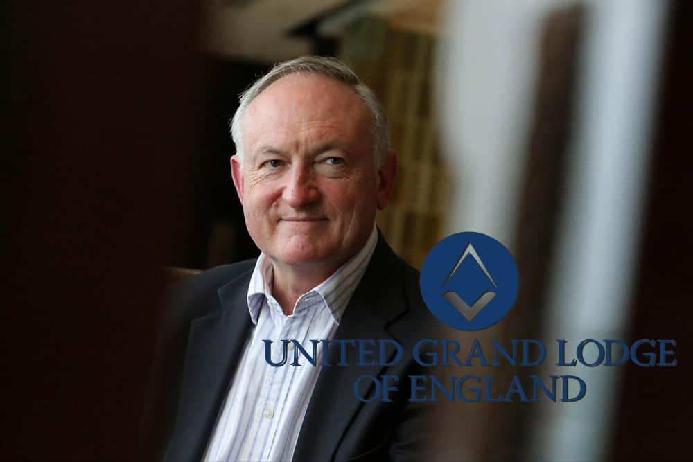 Nigel Brown - Grande Secretário da Grande Loja Unida de Inglaterra (UGLE)