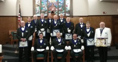 Schenectady Lodge nº 1174 Officers
