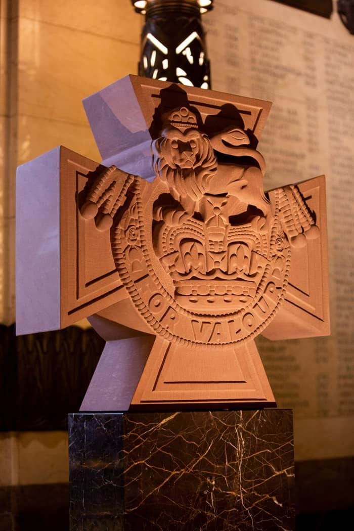 Victoria Cross Remembrance Stone