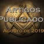 Artigos publicados – Agosto de 2019