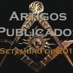 Artigos publicados – Setembro de 2019