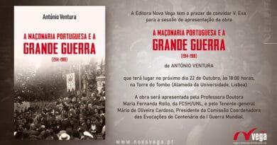maconaria portuguesa grande guerra