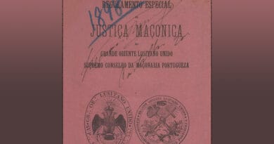 regulamento especial justica maconica