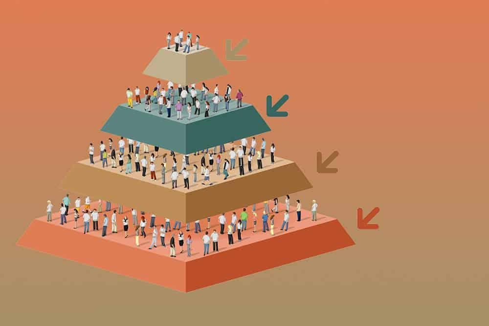 people pyramid jhgf56trfgh