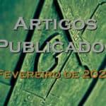 Artigos publicados – Fevereiro de 2020
