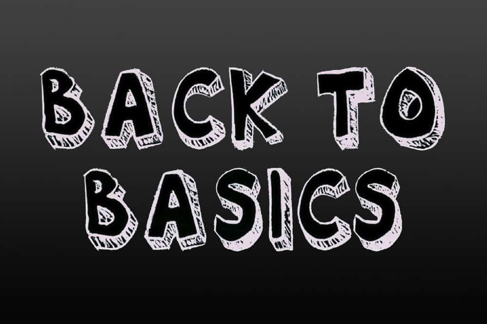 back to basics ghtyghh