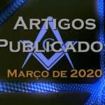 Artigos publicados – Março de 2020