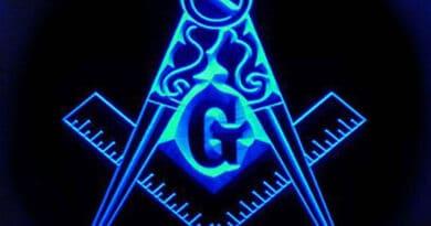 masonic blue neon hghghg76g