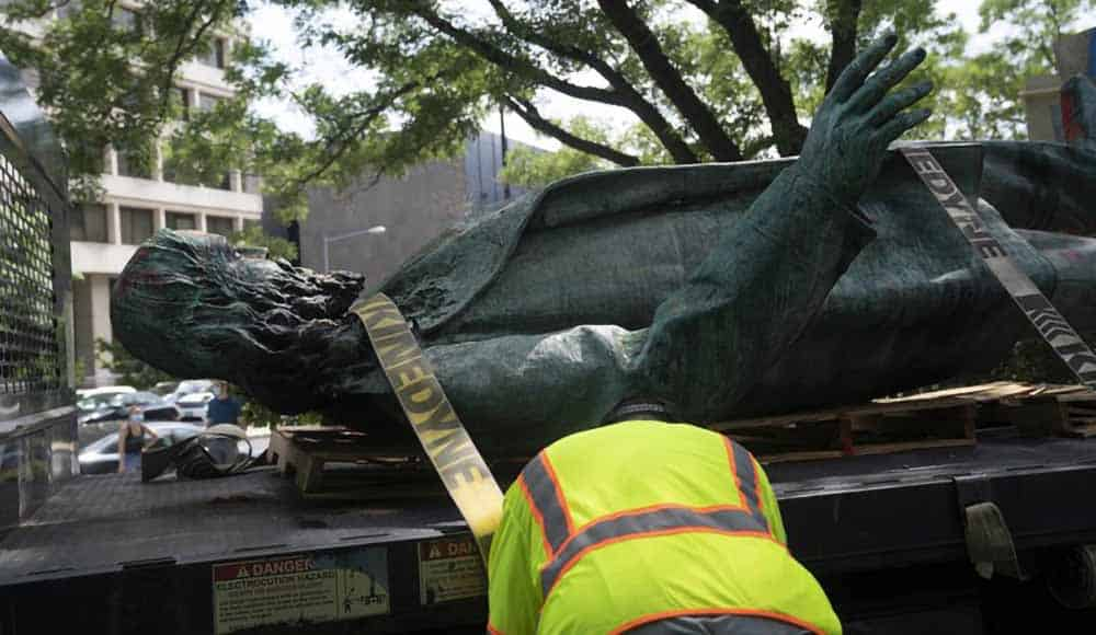 albert pike statue removal