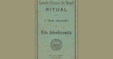 ritual 1  grau adonhiramita 1954