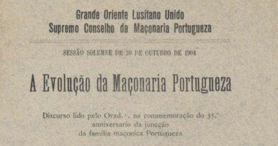 evoluçao maçonaria portugueza