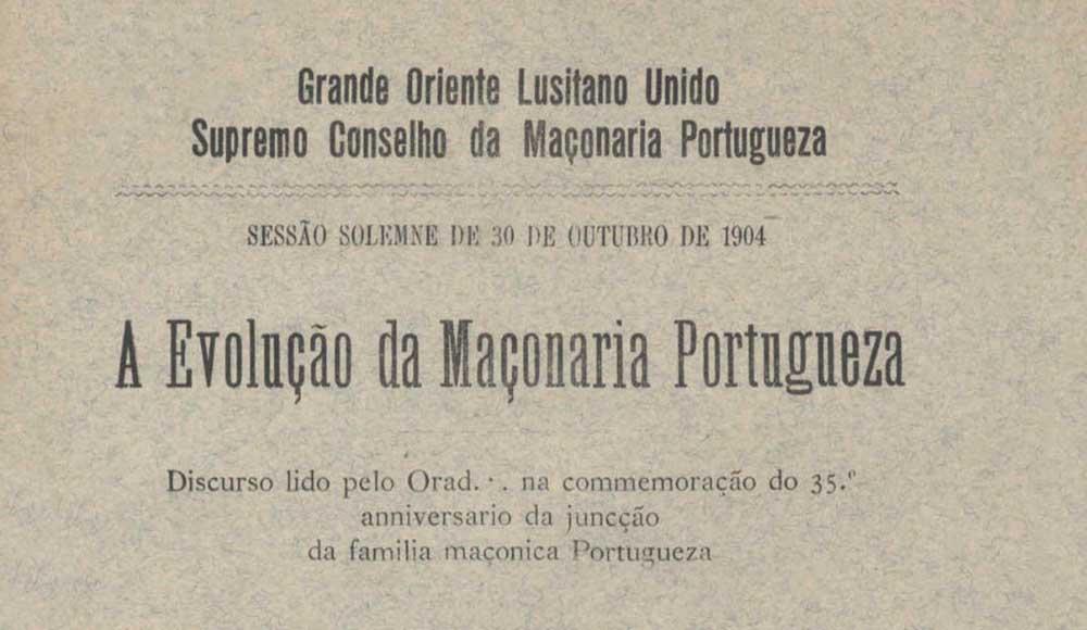 juncção familia maçonica portugueza
