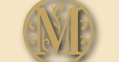 letter m 87654rtfghgf